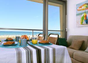 Une vue magnifique pour le petit déjeuner